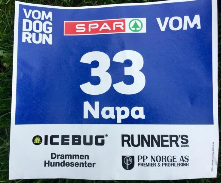 Det var Napa som fikk sitt navn på startnummeret.